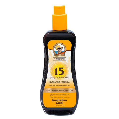 SPF 15 Spray Gel with Bronzer