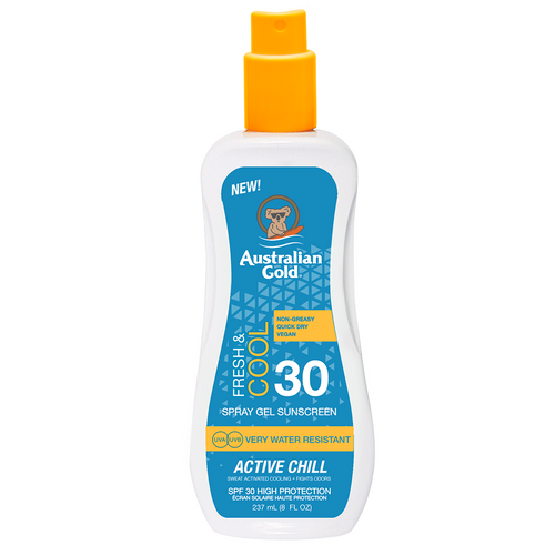SPF 30 Active Chill Spray Gel