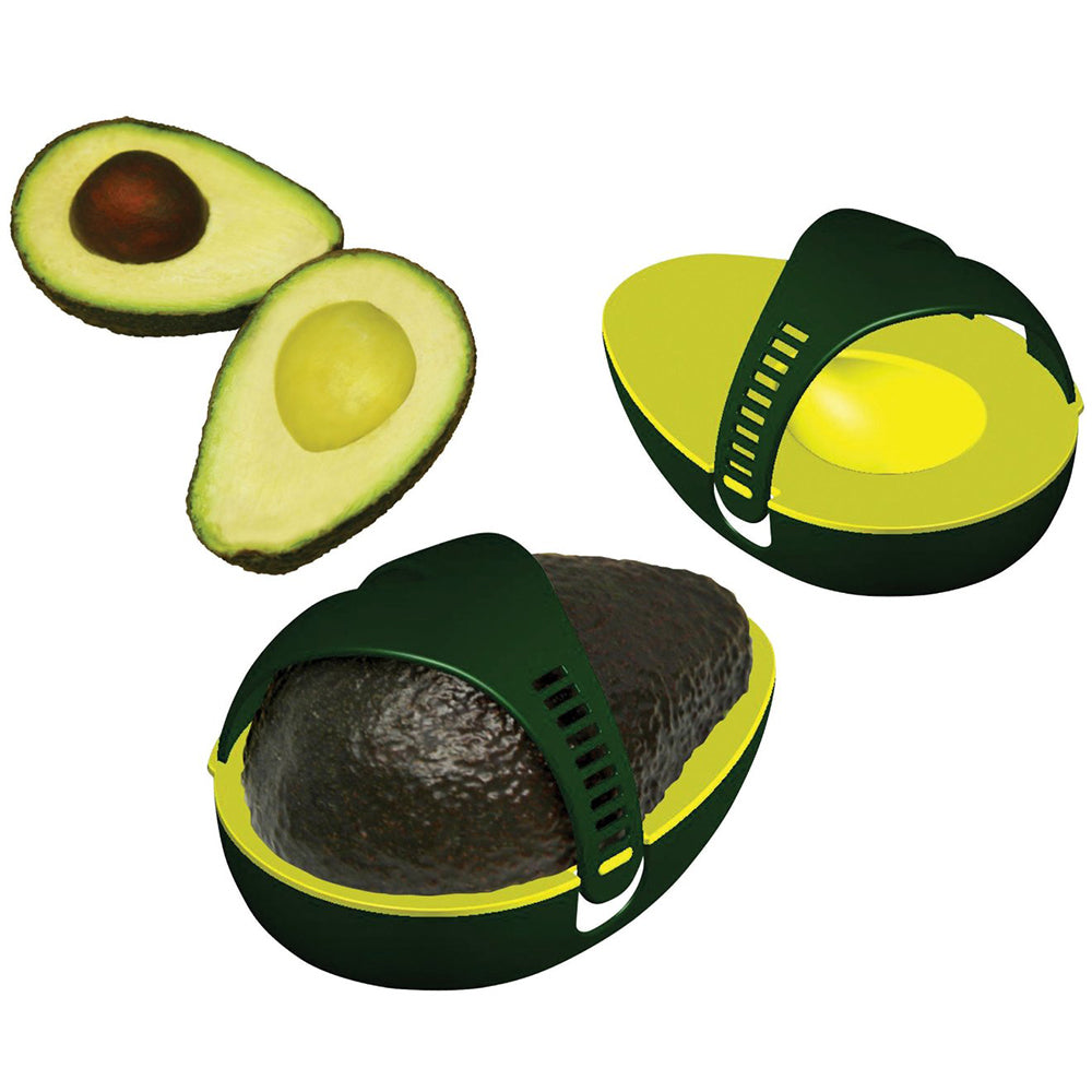 1Pc New Plastic Avocado Stay Fresh Leftover Half Keeper