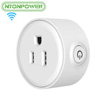 Smart Wifi US Plug Remote Control Power Switch for Smart Home Automation.