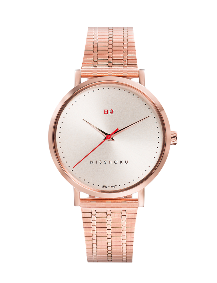 Eclipse Fine Link 38mm Rose Gold