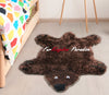 FurKingdom Paradise™ Realm of Bear Rug - Chocolate