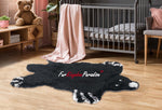 FurKingdom Paradise™ Realm of Bear Rug - Black