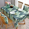 Digital Water Resistant Table Cover - Tropical Leaves