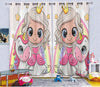 Kids Cartoon Blackout Curtains - The Princess & the little Pony (Set of 2)