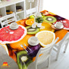 Digital Water Resistant Table Cover - Fruit Salad