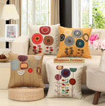 Realm of Roses Cotton Feel Cushion Covers - 5 Piece/Set
