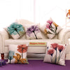 Sporal Flora Jute Cushion Covers - 5 Piece/Set
