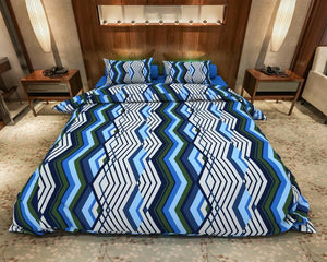 Wave Stripe Cotton Bed Comforter