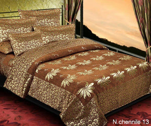 Essence of Peacock Chenille Bedcovers - B