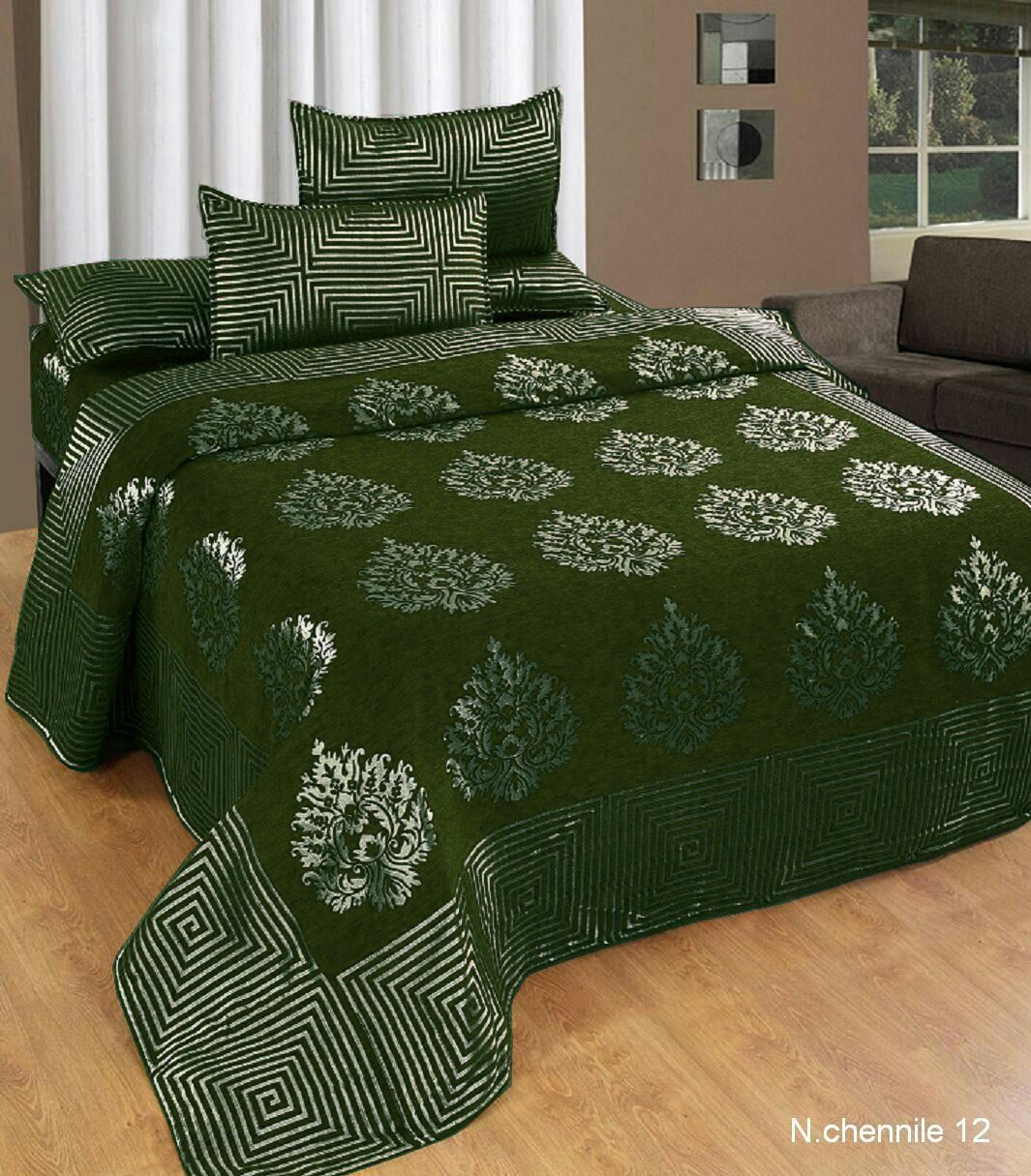 Crafty Chenille Bedcovers for Art Lovers - I