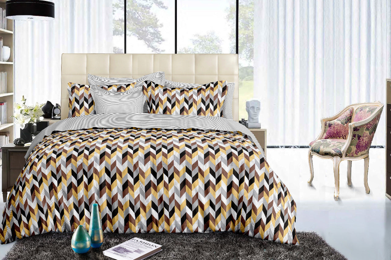 The Columns of Luxury - 100% Pure Cotton Bedsheet