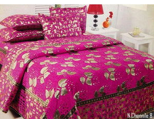 Budding Leaves Chenille Bedcovers - A