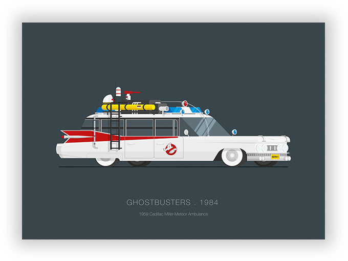 Ghostbusters (1984) - 1959 Cadillac Miller-Meteor Ambulance