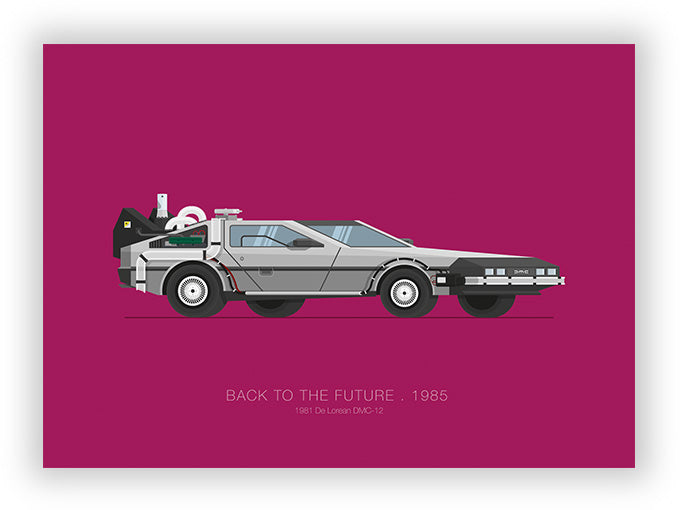 Back to the Future (1985) - 1981 De Lorean DMC-12
