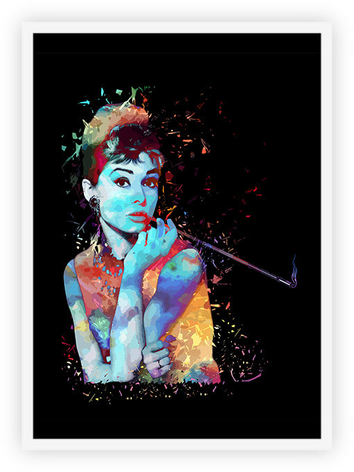 Audrey - Burst of Colors