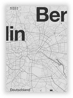 Berlin - Minimalist Map