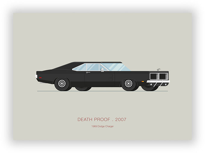 Death Proof (2007) - 1969 Dodge Charger