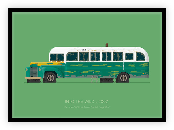 Into the Wild (2007) - Fairbanks City Transit System Bus 142 Magic Bus