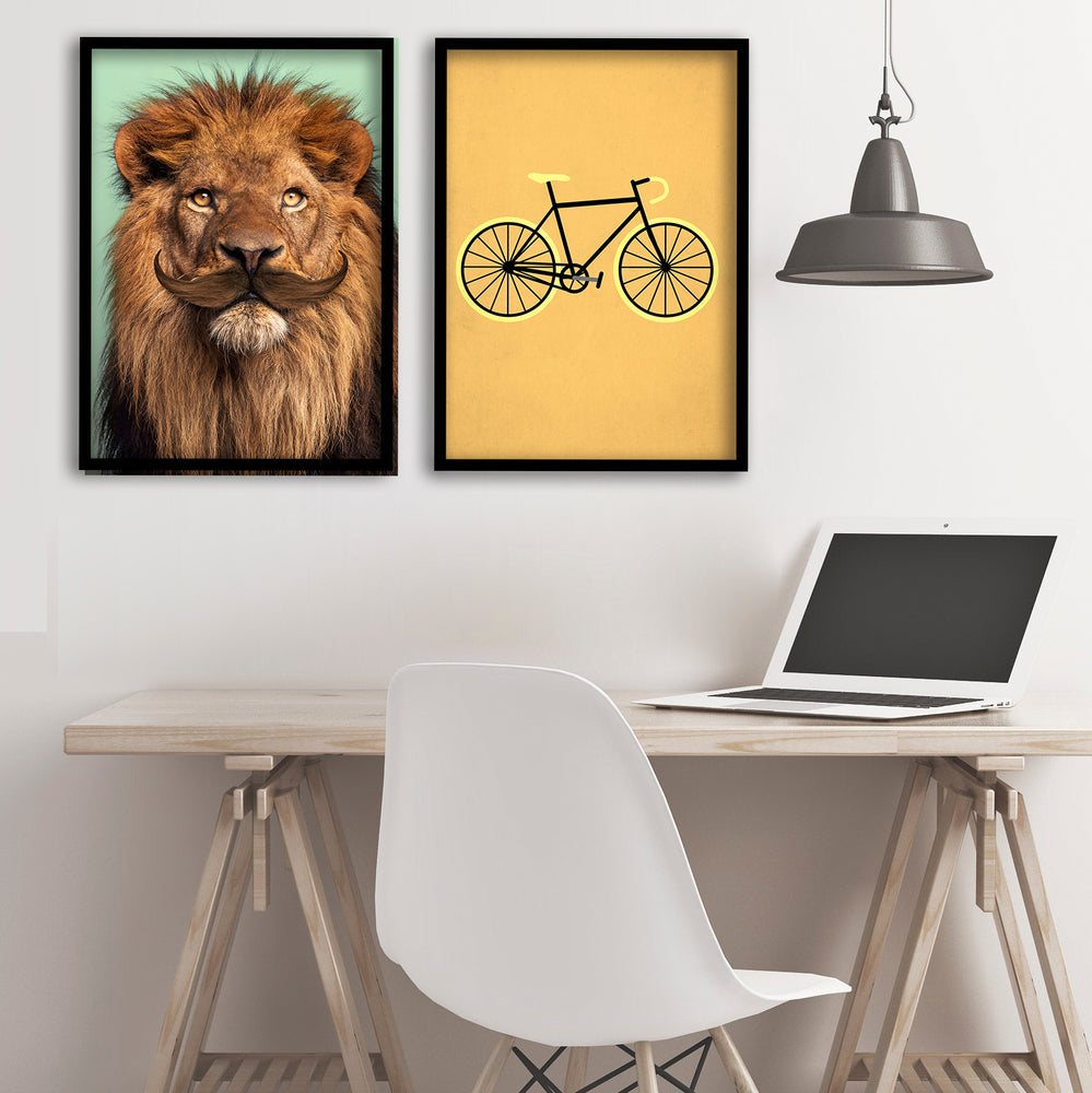 Lion in the Office