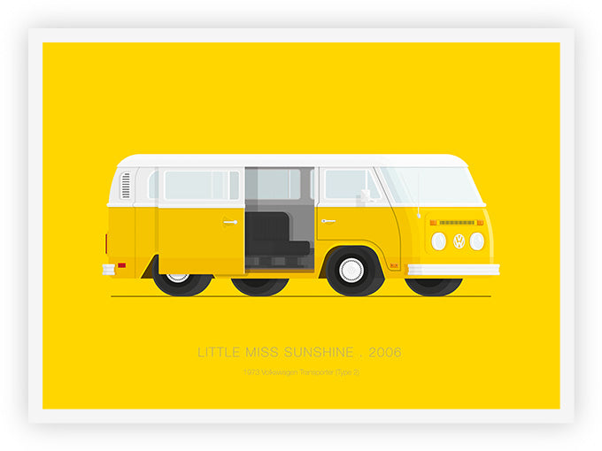 Little Miss Sunshine (2006) - 1973 Volkswagen Transporter (Type 2)
