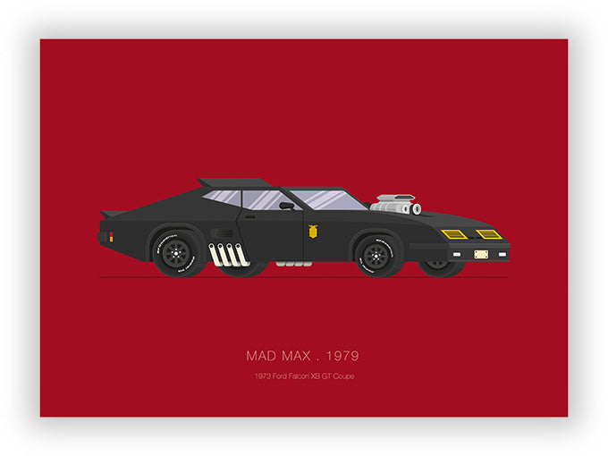 Mad Max (1979) - 1973 Ford Falcon XB GT Coupe