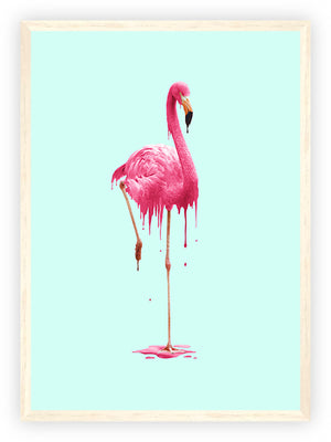 Melting Flamingo