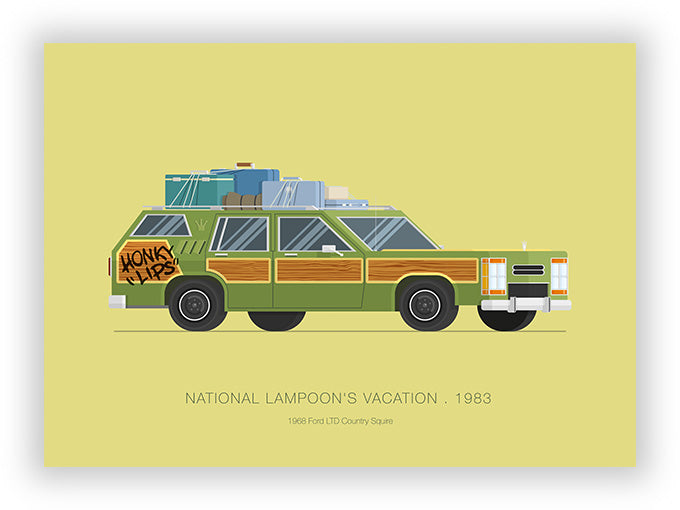 National Lampoon's Vacation (1983) - 1968 Ford LTD Country Squire