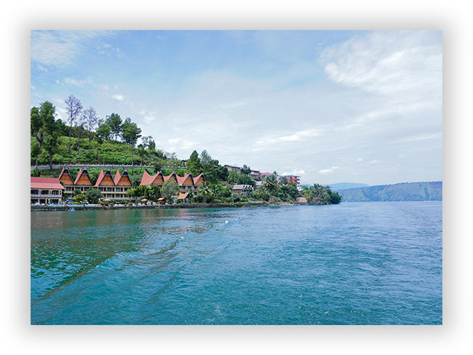 Parapat City - Lake Toba