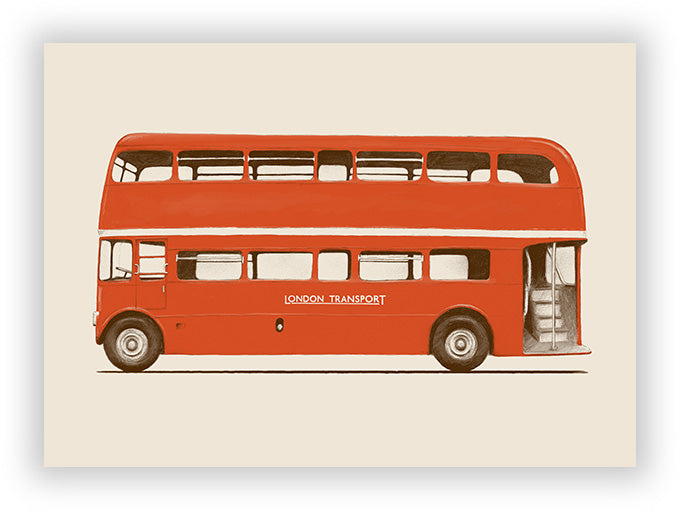 Red English Bus