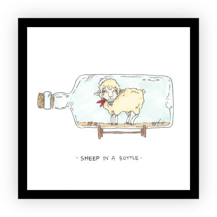 Sheep in a Bottle