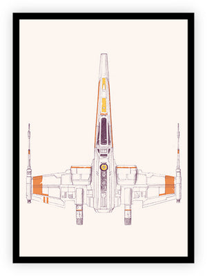 Spaceship - X Wing