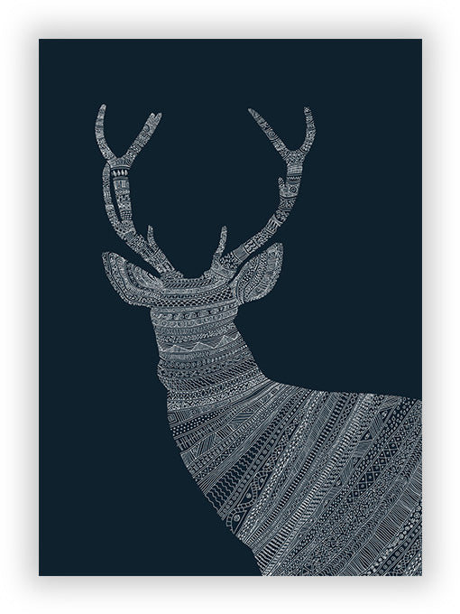 Stag - Blue