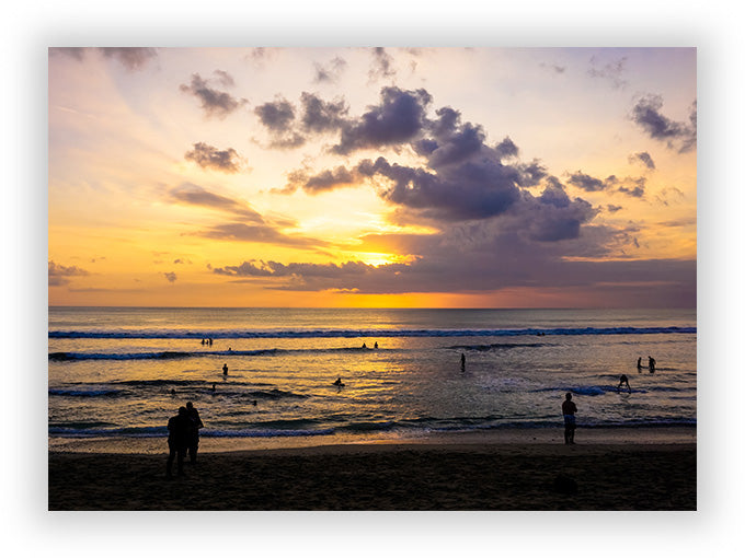 Sunset at Kuta Beach, Bali