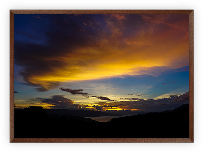 Sunset at Lake Toba
