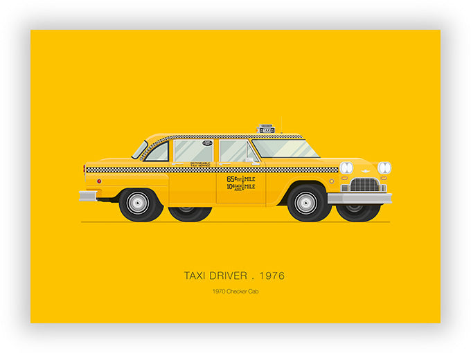 Taxi Driver (1976) - 1970 Checker Cab