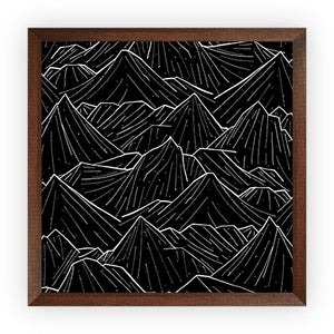 The Dark Square Mountains