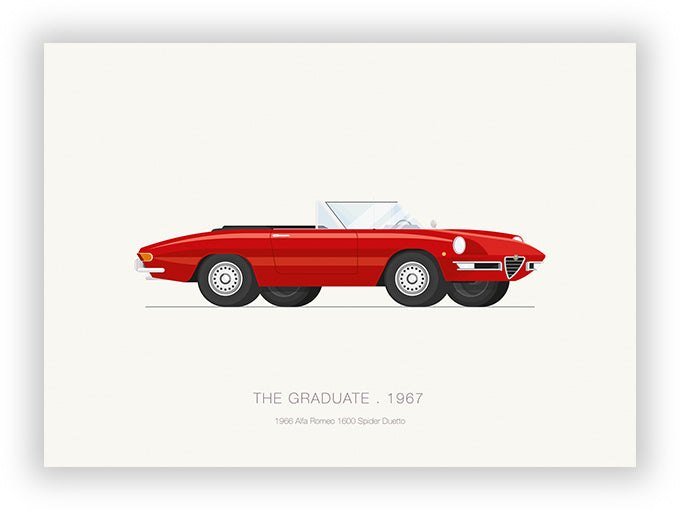 The Graduate (1967) - 1966 Alfa Romeo 1600 Spider Duetto