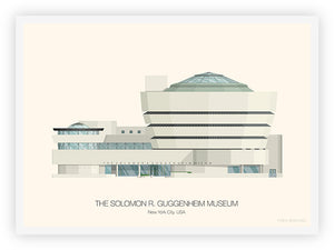 The Solomon R. Guggenheim Museum - New York City, USA