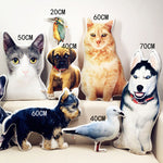 Custom Dog Shaped Pillows -photogiftsideas