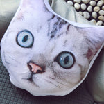 Custom Pet Face Shaped Pillow - photogiftsideas