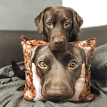 Custom Dog Photo Pillow Unique Gift | photogiftsideas