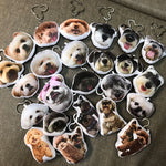Custom Pet Shaped Pillow Keychain -photogiftsideas