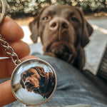 custom photo keychain mini pet