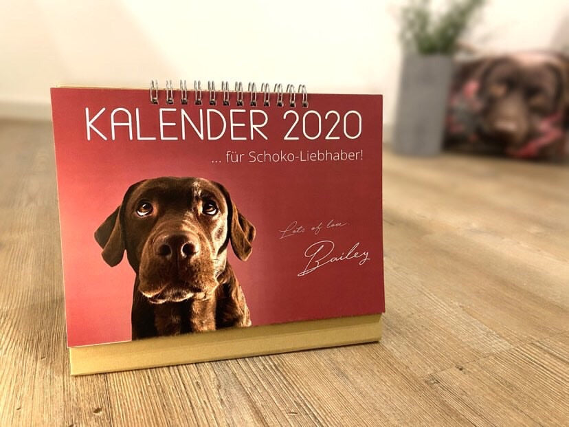 Personalized photo calendar 2020