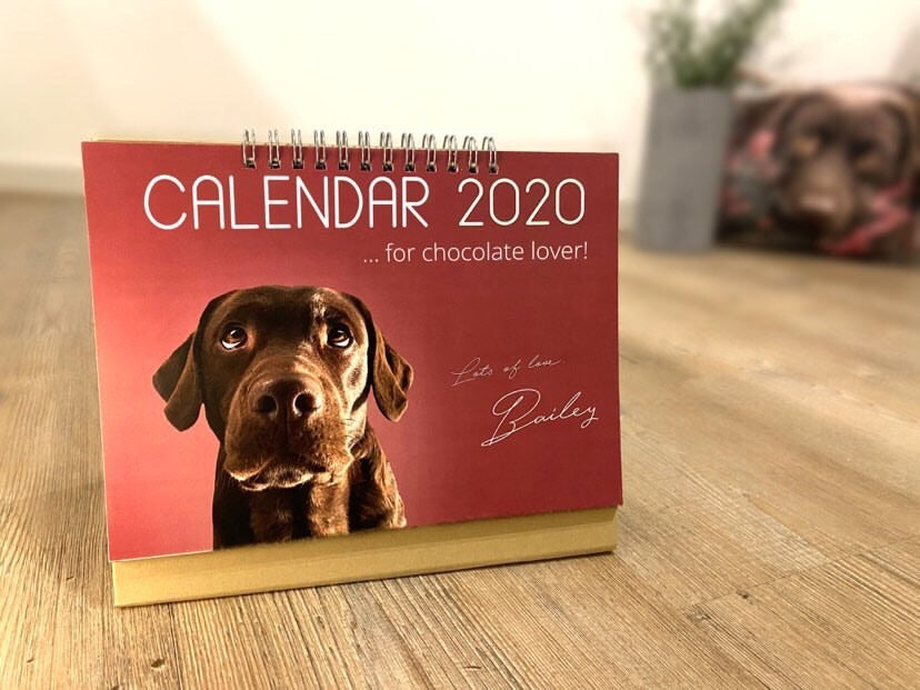 Personalized Photo Calendar with your own pictures