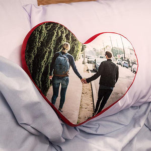 Custom Heart Shaped Pillows | Photogiftsideas