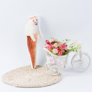 Custom Ice Cream Cone Shaped Cushion| photogiftsideas