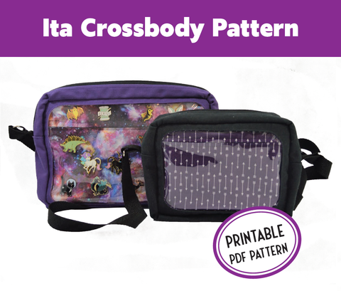 Ita Crossbody Bag PDF Sewing Pattern