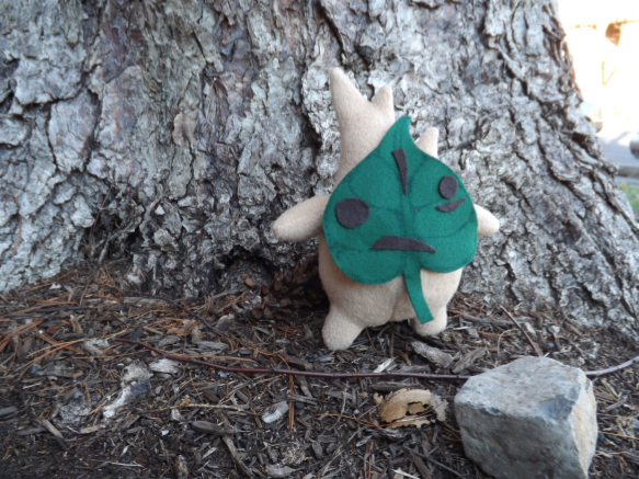 Forest Sprite Plush Sewing Pattern PDF